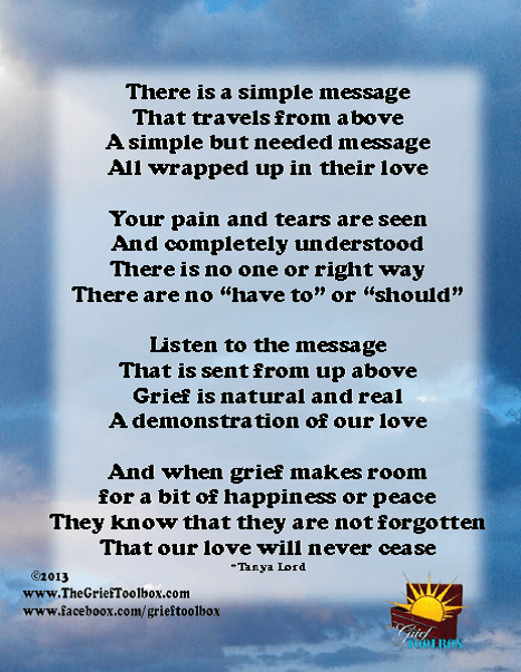 Be Real In Grief A Poem The Grief Toolbox