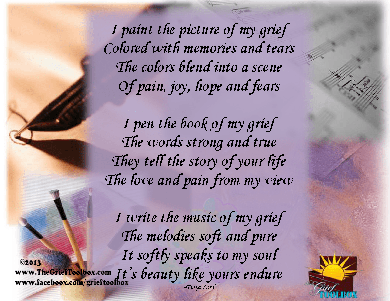 The Art Of Grief A Poem The Grief Toolbox