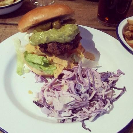 Chilli Nacho Burger - Urban Tap House