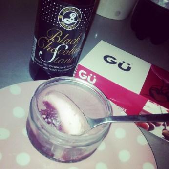 Gu Cherry Pud + Brooklyn Stout
