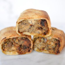 The Chicken and Mushroom sausage roll (Pic courtesy of LJH)
