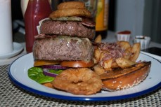 Pretentious Burger (Copyright: Jordan Harris)