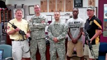 Grand Valley Armory before deployment