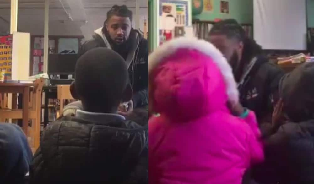 Former NFL player shares heartbreaking video from freezing Baltimore school