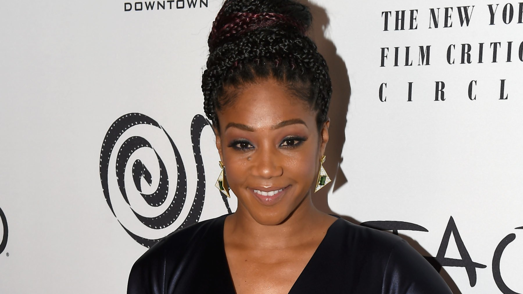 Tiffany Haddish delivers epic 17-minute acceptance speech at NYFCC Awards