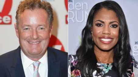 Image result for Piers Morgan and Omarosa pictures
