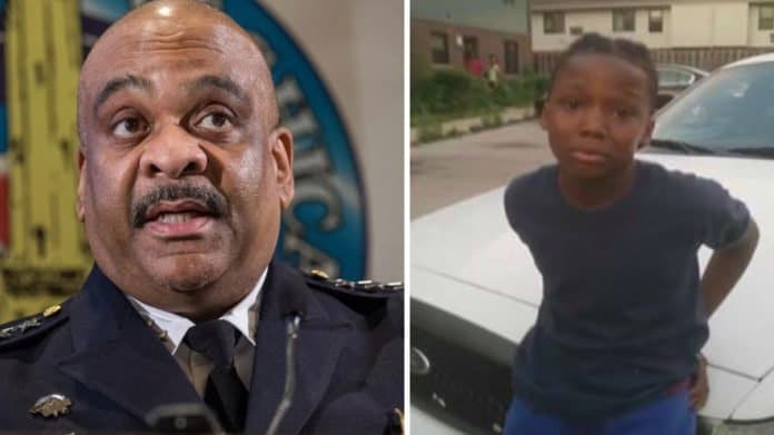 Chicago Police Superintendent Eddie Johnson said cops were right to handcuff 10-year-old boy thegrio.com