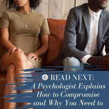 psychologist explains how to compromise and why you need to
