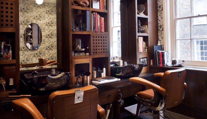 best tv watching chair miniature adirondack the barber - alfred dunhill's bourdon house grooming guidethe guide