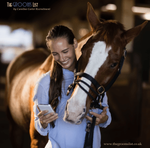 Nail that equine job application! Caroline Carter Recruitment