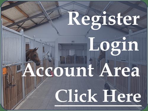 Register Login Account Area