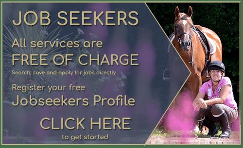 Equine Careers | Equine Grooms | Equine Jobs | Equestrian Jobseekers