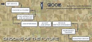 The Grooms List Apprenticeship Zone - Become an Apprentice Groom - A Parents Guide - Infographic