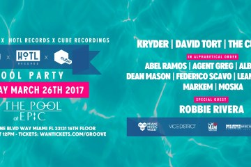Sosumi x HoTL Records x Cube Recordings Miami Pool Party