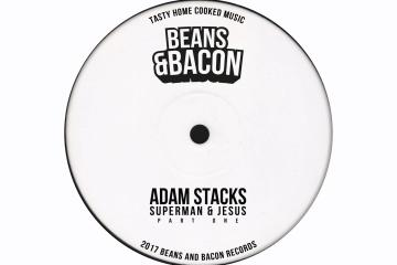 Superman & Jesus Adam Stacks BEANS & BACON