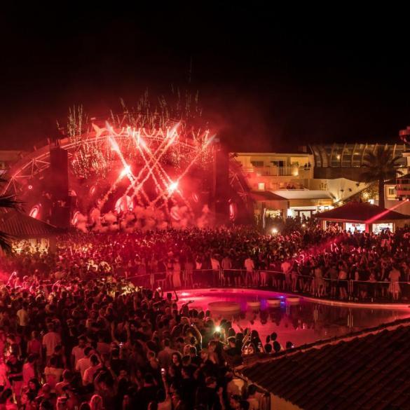 Ushuaia Ibiza summer 2018 schedule
