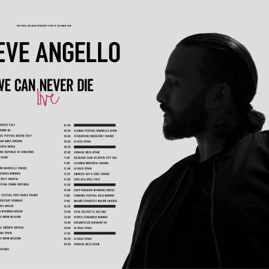 Steve Angello 2018 summer tour schedule