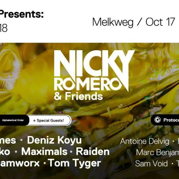 Protocol Nicky Romero Amsterdam Dance Event 2018