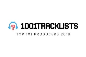 1001tracklists top 101 producers 2018