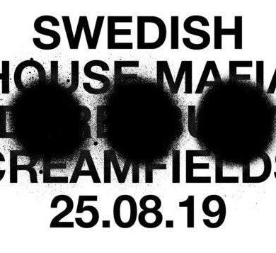 Swedish house Mafia Creamfields 2019 UK