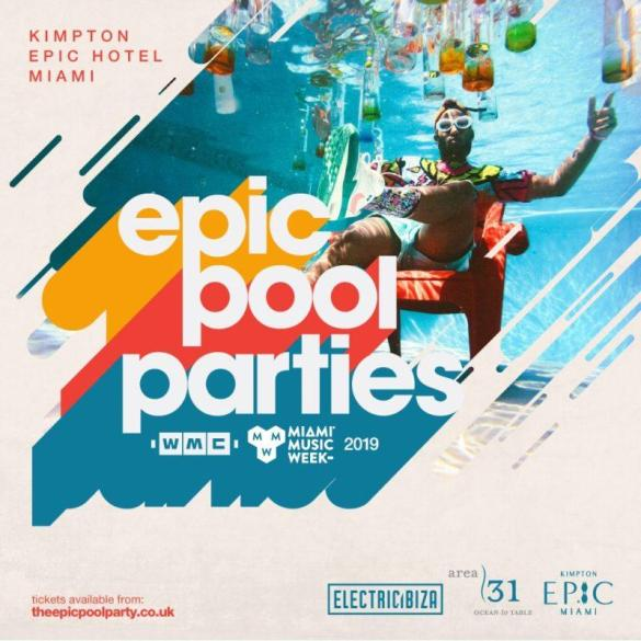 Miami Music Week opening party Kimpton EPIC Hotel