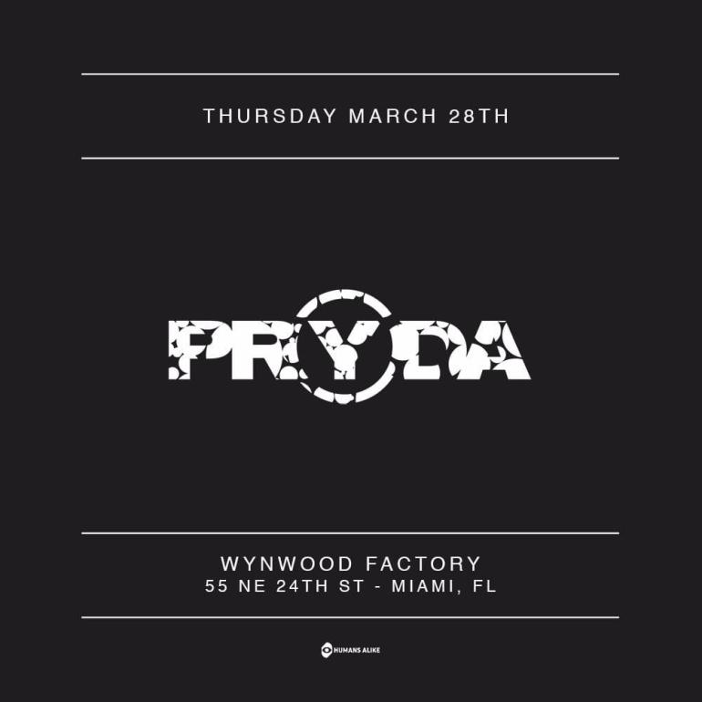 Pryda Miami tickets sold out