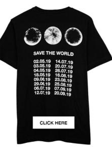 Swedish House Mafia pop-up store t-shirt