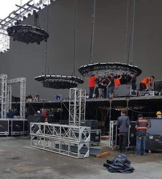 Swedish House Mafia stage Foro Sol Mexico City