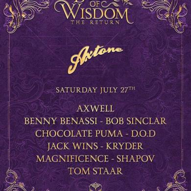 Axtone Tomorrowland 2019 lineup