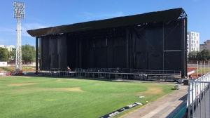 Ultra Europe 2019 mainstage built