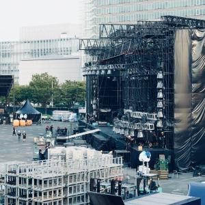 Ultra Japan 2019 mainstage side view