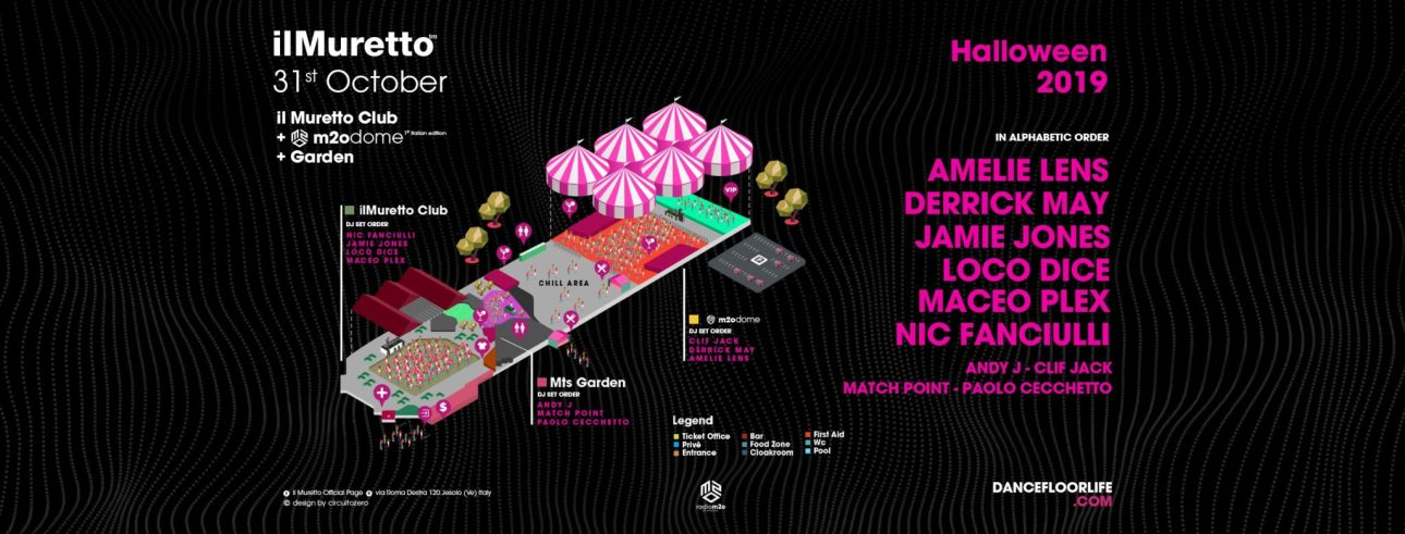 Il Muretto Jesolo Presents Massive 12 Hour 2019 Techno