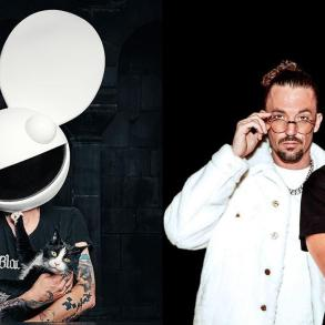 Deadmau5 Dimitri vegas and Like Mike