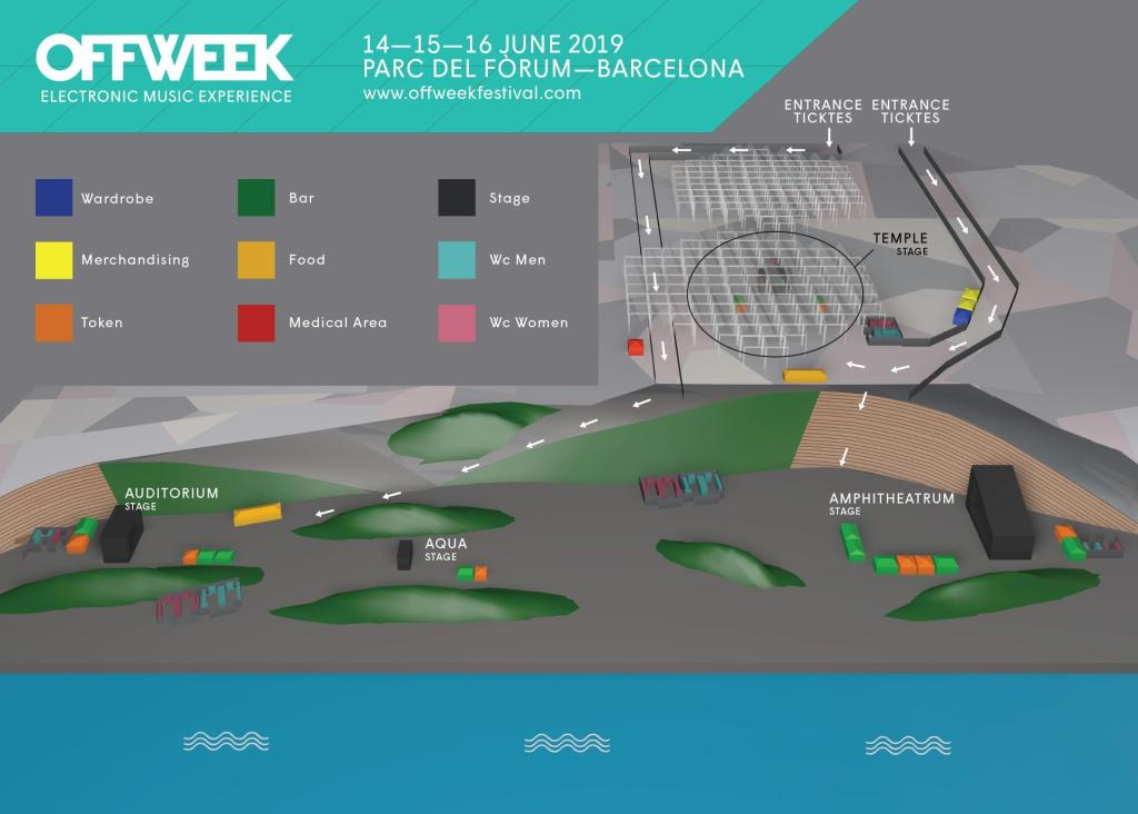 OFF WEEK Festival 2019 map