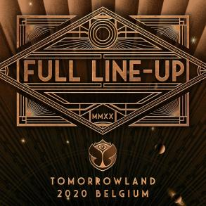 Tomorrowland 2020 lineup announcement flyer