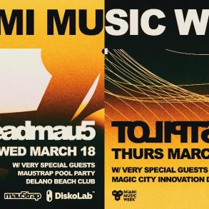 deadmau5 testpilot miami music week 2020 flyer