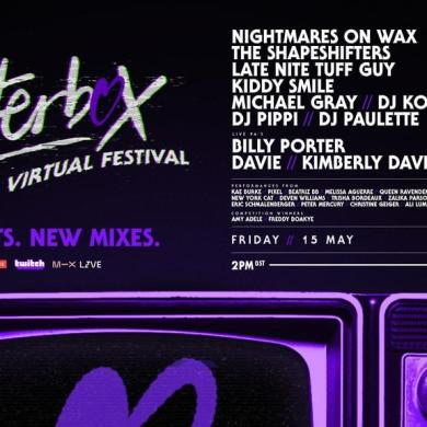 Glitterbox Virtual Festival 3 event flyer
