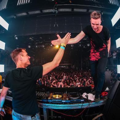 Armin van Buuren and Nicky Romero