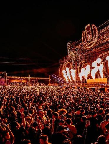 Ultra Taiwan 2020 mainstage in full effect