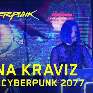 Nina Kraviz for Cyberpunk 2077 performance