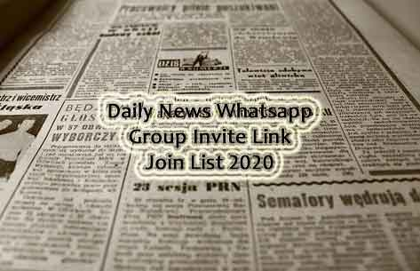 Aaj Tak Whatsapp Group