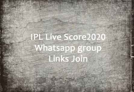 IPL Live Score Whatsapp Group