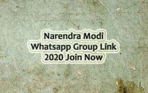 Modi Whatsapp Group Link