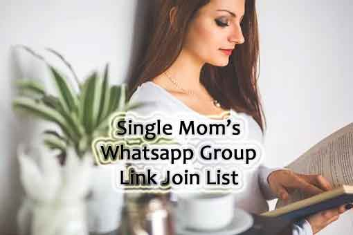 Single Mom Whatsapp group
