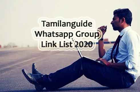Tamilanguide Whatsapp group Link