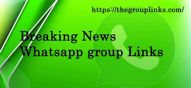 Breaking News Whatsapp Group