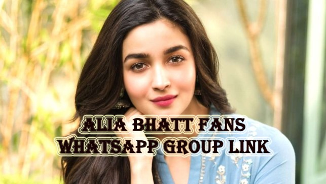 Alia Bhatt Fans Whatsapp