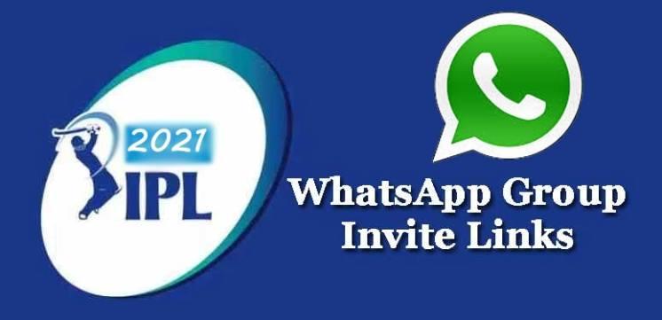 IPL 2021 Whatsapp Group Link