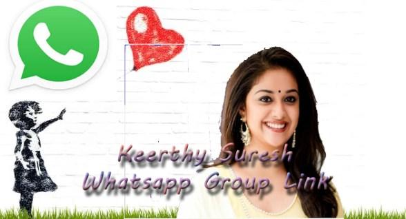Keerthy Suresh Whatsapp Group