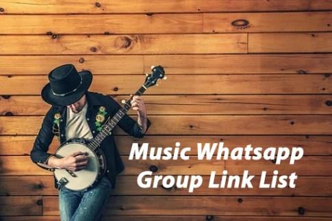 Music Whatsapp group Link